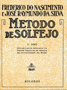 MÉTODO DE SOLFEJO - Vol. 1 - Frederico do Nascimento