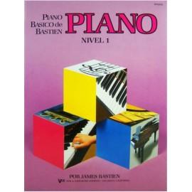 PIANO BÁSICO DE BASTIEN - Nível 1 - PIANO - James Bastien WP201