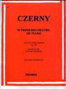 CZERNY - O PRIMEIRO MESTRE DE PIANO - 100 Estudos Diários Op. 599 Revisão Ettore Pozzoli