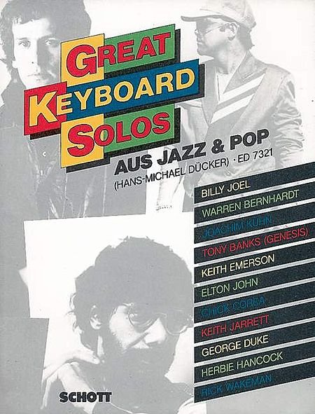 GREAT KEYBOARD SOLOS - AUS JAZZ & POP - Hans - Michael Ducker