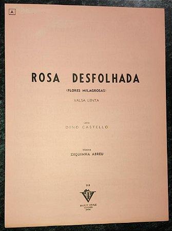 ROSA DESFOLHADA (Flores milagrosas) - partitura para piano - Zequinha Abreu e Dino Castello