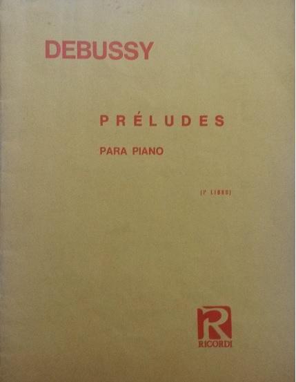 PRELUDES PARA PIANO LIBRO 1 – Debussy