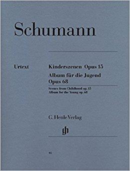 SCHUMANN - Kinderszenen - Op.15 / Album Fur Die Jugend - Op.68 (Álbum para juventude) - Urtext