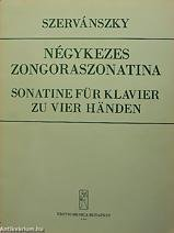 SONATINE FUR KLAVIER 4 MÃOS - Szervánszky