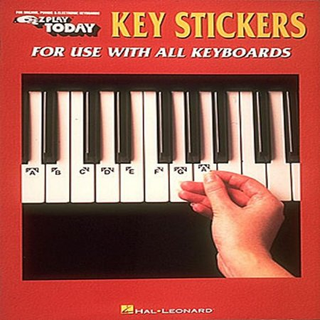 KEY STICKERS - For Use With All Keyboards