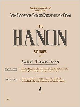 HANON STUDIES - BOOK 1 - By John Thompson