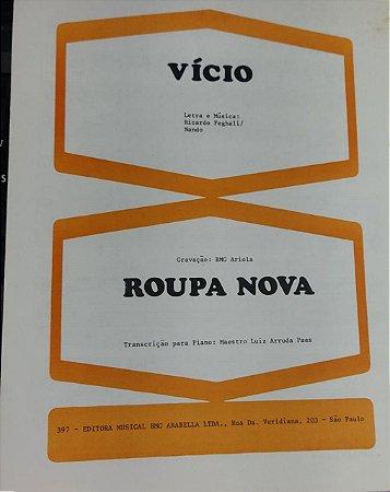VÍCIO - partitura para piano - Gravação Roupa Nova