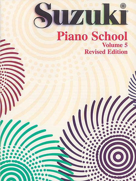 SUZUKI PIANO SCHOOL - Vol. 5 - Revised Edition