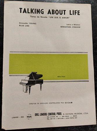 TALKING ABOUT LIFE - partitura para piano solo - Sebastian J´engow (tema da novela Um dia o amor)