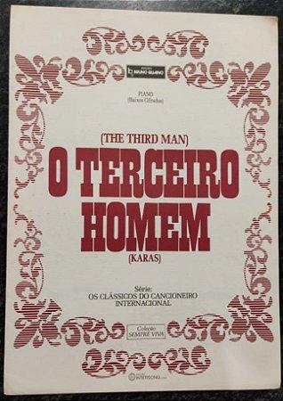 O TERCEIRO HOMEM - partitura para piano solo (the third man) - Anton Karas