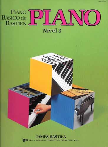 PIANO BÁSICO DE BASTIEN - Nível 3 - PIANO - James Bastien WP203P