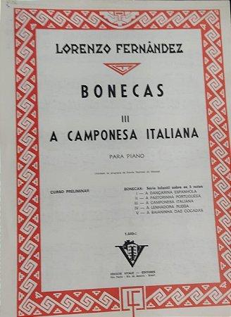 A CAMPONESA ITALIANA - partitura para piano - Lorenzo Fernandez