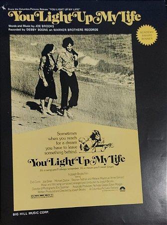 YOU LIGHT UP MY LIFE - partitura para piano, canto e cifras para violão - Joe Brooks