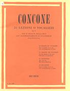 CONCONE - 25 LEZIONI OP. 10 - VOZ MÉDIA