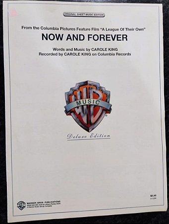 NOW AND FOREVER - partitura para piano - Carlo King (Tema do filme A League of their own)