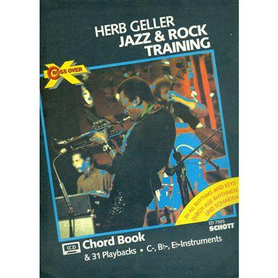 JAZZ AND ROCK TRAINING-31 PLAYBACKS - Herb Geller