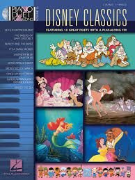 DISNEY CLASSICS - Piano Duet Play-Along Volume 16