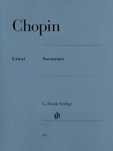 CHOPIN - NOCTURNES - NOTURNOS - Urtext
