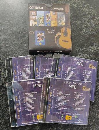 Cds do livro Música popular brasileira MPB 1 - Rene Faria Filho
