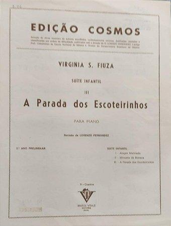 A PARADA DOS ESCOTEIRINHOS - partitura para piano - Virginia S. Fiuza
