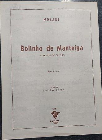 BOLINHO DE MANTEIGA - partitura para piano - Mozart