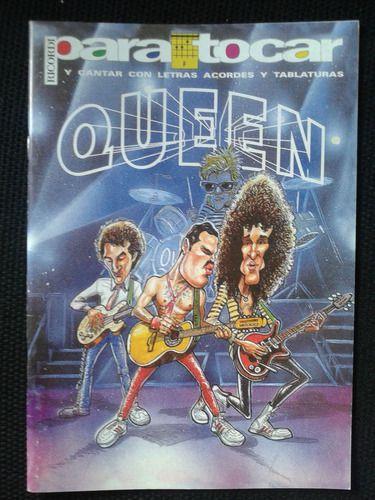 Queen - Para Tocar, cantar com letras, acordes e tablaturas