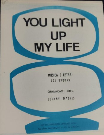 YOU LIGHT UP MY LIFE - partitura para piano - Joe Brooks
