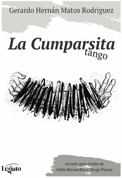PARTITURA PARA VIOLÃO: LA CUMPARSITA - TANGO - Gerardo Hermán Matos Rodriguez