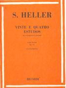 HELLER - VINTE E QUATRO ESTUDOS DE EXPRESSÃO E RITMO OP.125 - PIANO