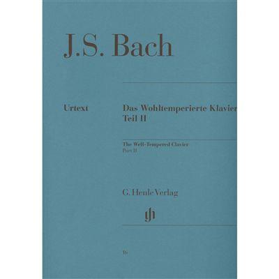 BACH - O CRAVO BEM TEMPERADO VOL. 2 - BACH - Urtext (DAS WOHLTEMPERIERTE KLAVIER - VOL.2)