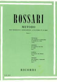 METODO PER TROMBONE E BOMBARDINO A CILINDRO IN SI BEM - VOL.1 - Rossari
