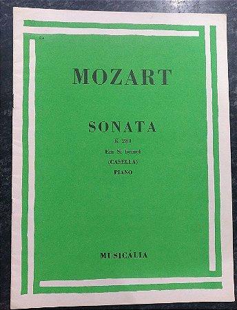 MOZART - SONATA K 281 Revisão Casella