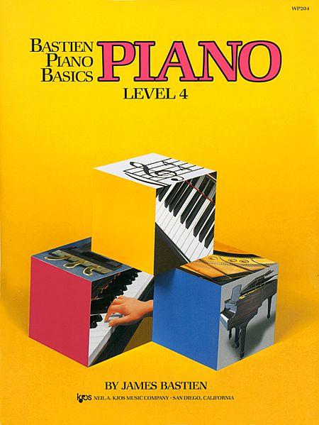 PIANO BÁSICO DE BASTIEN - PIANO - Nível 04 - James Bastien (WP204E)