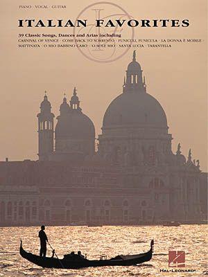 ITALIAN FAVORITES - Piano, vocal