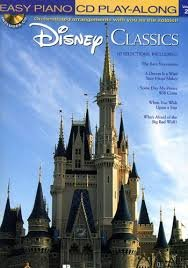DISNEY CLASSICS - Easy Piano CD Play-Along Volume 23