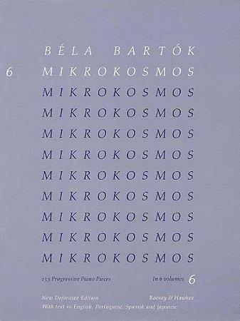BELA BARTOK - MIKROKOSMOS - VOL 6