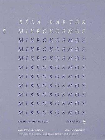 BELA BARTOK - MIKROKOSMOS - VOL 5