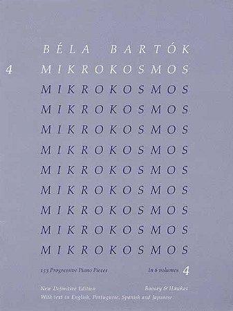 BELA BARTOK - MIKROKOSMOS - VOL 4