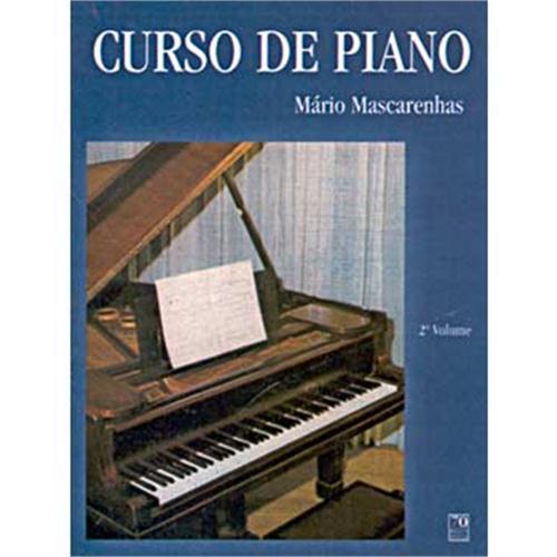 CURSO DE PIANO - 2º VOL. - Mário Mascarenhas