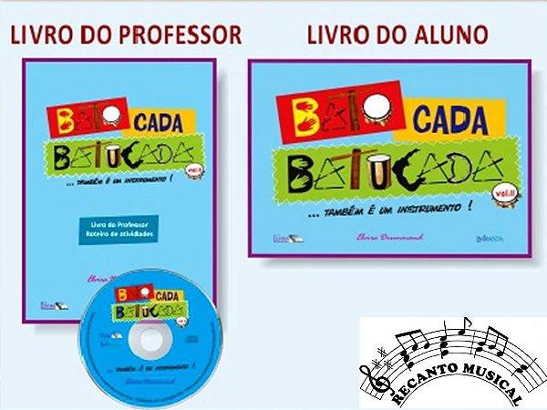 BATO CADA BATUCADA VOLUME II - (também é um instrumento!) - Elvira Drummond