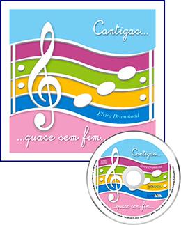 CANTIGAS... QUASE SEM FIM... Com CD - Elvira Drummond