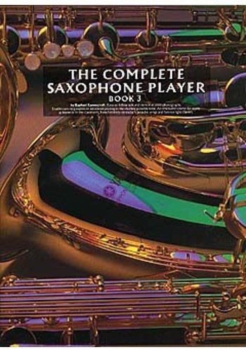 THE COMPLETE SAXOPHONE PLAYER - BOOK 3 - Raphael Ravenscroft