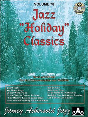 JAZZ HOLIDAY CLASSICS - Jamey Aebersold - Vol. 78