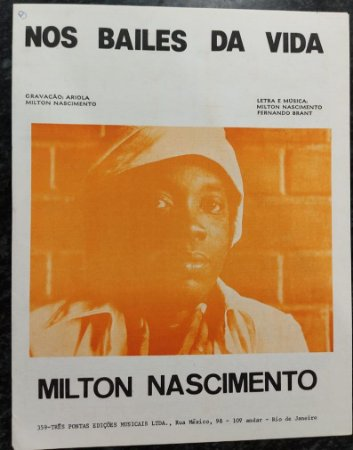 NOS BAILES DA VIDA - partitura para piano - Milton Nascimento e Fernando Brant