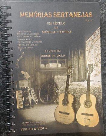 Memórias Sertanejas vol. 2 (Clássicos sertanejos com letras cifradas Violão e viola) - Rene Faria Filho