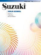 SUZUKI VIOLIN SCHOOL - Vol. 3 - Violin Part - Revised Edition