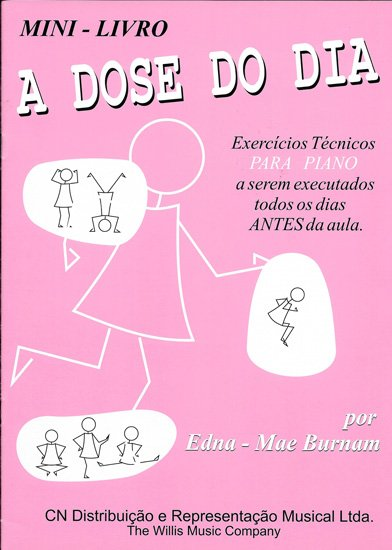 A DOSE DO DIA - MINI LIVRO - Edna-Mae Burnam