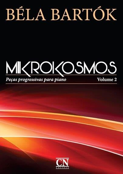 BELA BARTOK - MIKROKOSMOS - VOL 2 - Português - Peças progressivas para piano