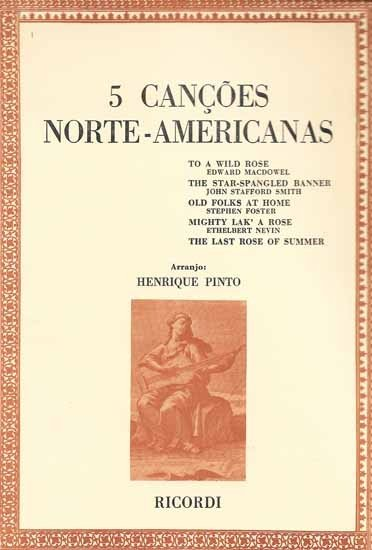 5 CANÇÕES NORTE-AMERICANAS - HENRIQUE PINTO