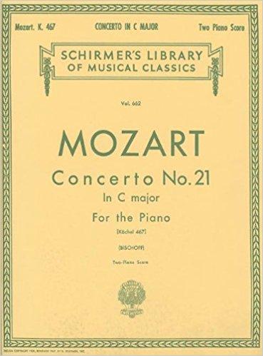 MOZART – CONCERTO N° 21 in C Major for 2 pianos / 4 mãos (K467) – Mozart